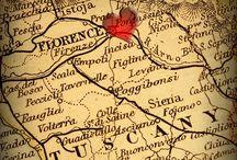 """I'm in Florence now... / Florence is my town. I was born and raised there. I live half of the year in Southern California and the rest in Florence.  Da """"Le Sorelle Materassi."""" """"Per coloro che non conoscono Firenze o la conoscono poco, alla sfuggita e di passaggio, dirò com'ella sia una città molto graziosa e bella, circondata strettamente da colline armoniosissime....""""  Aldo Palazzeschi / by Regilla ⚜"""