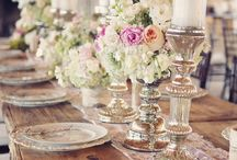 table decor for all kinds of events!!! / by Robin Molberg