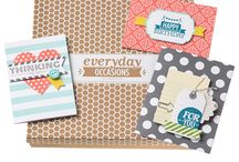 Everyday Occasions Cardmaking Kit / A kit for all of your everyday occasions. The Everyday Occasions Cardmaking Kit includes everything you need to make 20 cards for any occasion! Learn more at http://s.tamp.in/everyday-occasions. / by Stampin' Up!