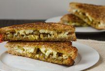 Sandwiches / Goat Cheese Sandwiches / by HappyDaysDairy