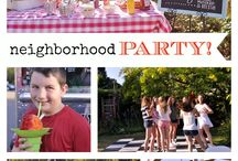 Block party / by Tricia Chase Elmer