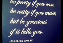 words of wisdom / by Nancy Foust