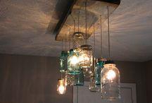 Mason Jar Love / Mason Jars everywhere!! Love it!! / by Halley Walker