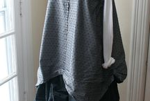 Lagenlook/upcycling / Layers, layers, layers / by Carol Eaton Walsh