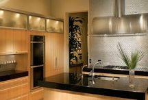 Contemporary Kitchens / Contemporary kitchens featuring the wildly popular shaker door style, as well as some flat-paneled doors. Create your own contemporary kitchen with cheap kitchen cabinets from www.stockcabinetexpress.com! / by StockCabinetExpress