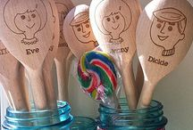 Party Utensils / by Amy {Blowout Party Blog}