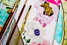 watercolor my life  / by Breanna Kerfoot