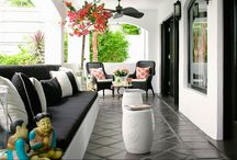 outdoor space / by Kim Johnson