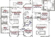 floor plans / by Sharon Lee
