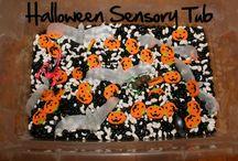 Halloween....Sensory Bins & Bottles / by Carla M.