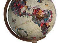 Maps and globes / by Susanne Firmenich