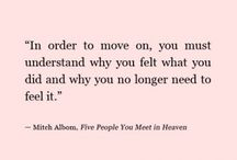 Quotes / by Morgan Brown