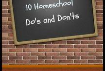 Homeschool / by Stephanie Lentz Buol
