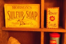 Old as the hills! / Sulphur Soap, Civil war bullets... / by Deb Eakin