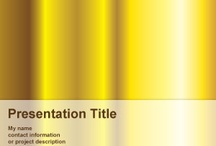 Yellow PowerPoint Templates / by Free PowerPoint Templates