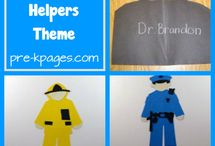 Community Helpers Lesson Ideas / by Becky San Juan