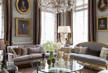 """Parisian Decor  / """"I'd like to see Paris before I die. Philadelphia will do."""" Mae West / by Kathy Walker"""