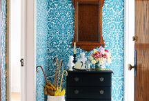 Wallpaper inspiration / by Genie Norris of ColorGenie