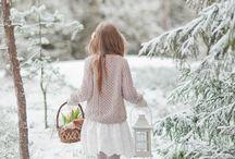 those snowy, windy days. / by Chloe Barcelou