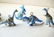 My Handmade Ornaments / by Cari Rakai