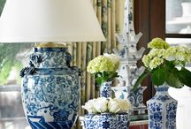 BLUE/WHITE VIGNETTES / by Kathy Warren