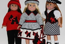 American Girl Doll Clothes / by Judy Sjostrom