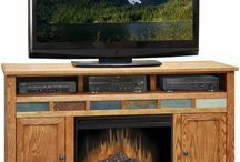 TREND: Built-in Fireplaces / Built-in fireplaces in home bars, TV stands & more! / by Home Gallery Stores