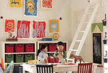 Playroom/loft / by Patty Jones