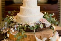 Wedding Cakes + Toppers / by Rebecca Hale