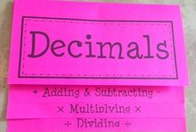 Fractions/Decimals/Percents / by Karyn Fine