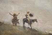Don Quichotte y Sancho Panza / by Mariette Bamps