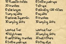 Exercise tips / by Sara Lofton