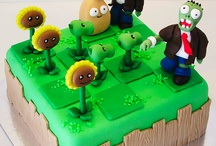 Plants vs Zombie Party / Plants vs zombies / by Abby Sheridan