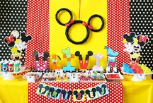 Mickey Mouse Party Ideas / by Amanda's Parties TO GO