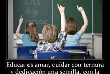 Educación  / by Catalina Noguez