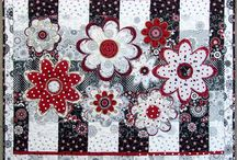RED/WHITE/BLACK QUILTS / I love the 3 colors together. So please pin many  many fabric things in these 3 colors. thanks dear friends.I will delete spam if I find them. Please feel free to invite another person. If you want to be invite please send me a email: dora@hopap.com :-) / by Dorte Rasmussen.Denmark