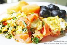 Clean Eating Breakfast / clean eating recipes for breakfast, healthy breakfast ideas, clean eating diet plan / by Clean Eating Recipes