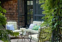 patio ideas / by Adriana Mehain Also Couture