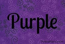 Purple / Shades of purple, lilac, plum, and everything in between.  / by Sara Keller