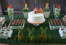 Easter Ideas / Easter party ideas  --   Easter cakes, Easter dinner, decorations, party foods and favors. See more party ideas at CatchMyParty.com. / by Catch My Party