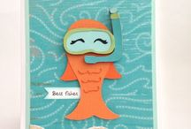 FISH CARDS / by Barbie
