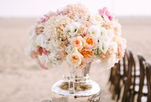 Glam Beach Wedding  / An intimate and glamorous beach wedding in Southern California.  / by Kristin Banta Events
