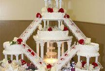 Fountain Wedding Cakes / by Diane Castro