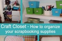 Crafting storage / by Jenny