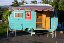 Fabulous Trailers and Campers / For all of us who dream of glamping in our own vintage or new camper! / by Trendy Bindis Boutique