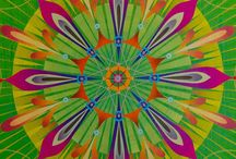 Mandala Therapy  / Heal yourself from depression, worry or even addiction by creating, coloring or just looking at a mandala. As you begin to notice patterns, you will start to feel the therapy working. Look at your mandala and discover how everything in the world is one, and for there to be peace, there must be balance, just like within the mandala. Remember, just as the mandala will fade, so will you. All life is impermanent, but you will have a lasting affect on others. How will you make your mark in history? / by Kitty Cat  m a d e l y n