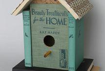 Birdhouses/fairy gardens / by Kelley Whisenhunt