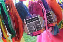 My DIY Colorful (Rainbow) Wedding / June 1, 2013 Wedding Day / by Sarah Huber (Mutter)