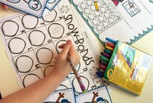 Kindergarten Number Bonds / by Emily Miller