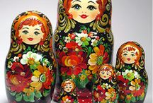 ♡ Beautiful Matryoshkas - my fav / What can I say....I'm addicted to these beautiful dolls!!! / by ♡ Isobel Van Den Bosch